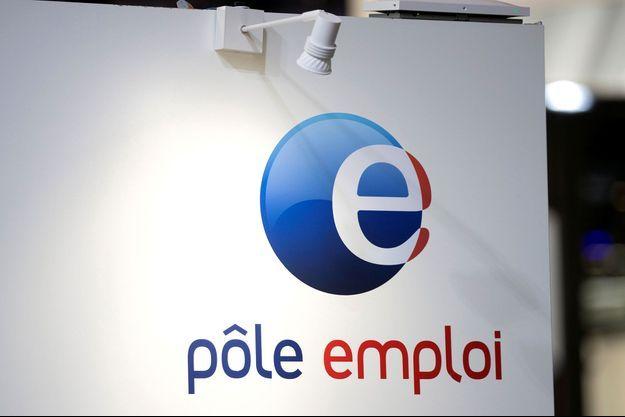Le logo de Pôle Emploi (image d'illustration).
