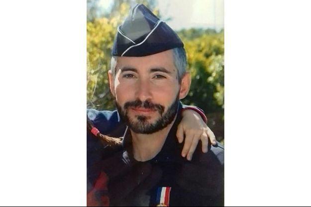 Le policier Éric Masson, tué à Avignon lors d'une opération anti-drogue.