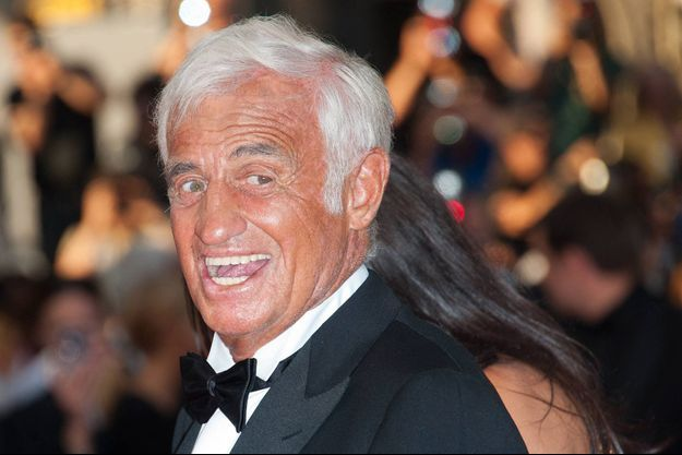 Jean-Paul Belmondo au Festival de Cannes en 2011.