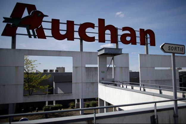 Un magasin de l'enseigne Auchan, à Saint-Sebastien-Loire, non loin de Nantes (image d'illustration).