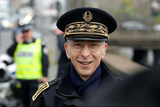 Le préfet de police Didier Lallement