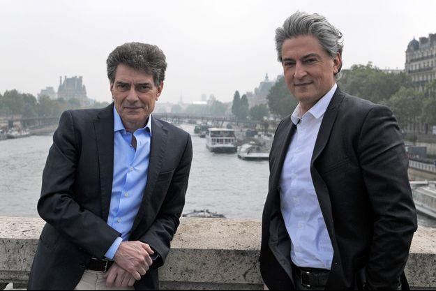 Pascal Durand, député européen écologiste, et Christophe Marie, porte-parole de la Fondation Brigitte Bardot.