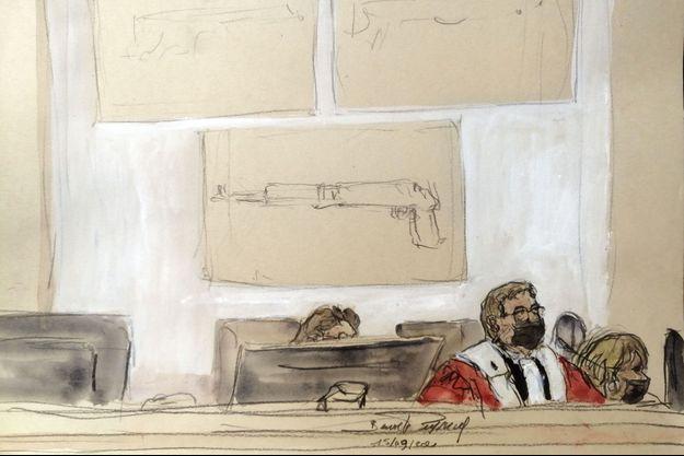 Au procès des attentats du 13-Novembre, le 15 septembre 2021.