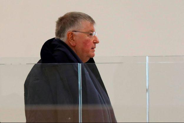 Didier Lombard au palais de justice de Paris, le 6 mai.
