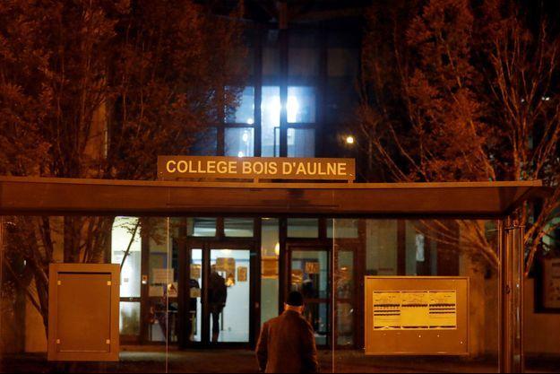Le drame s'est déroulé non loin du collège du Bois d'Aulne, où enseignait Samuel Paty.