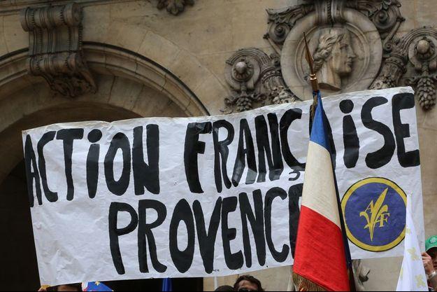Logan Alexandre Nisin est un ancien militant d'Action française Provence