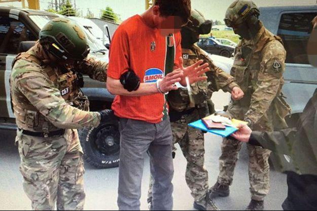 Le Français a été arrêté en mai en Ukraine