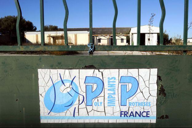 A la Seyne-sur-Mer, en décembre 2011, sur le site de l'ancienne entreprise PIP.