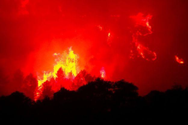 Le feu jeudi près de Monze, dans l'Aude (image d'illustration).
