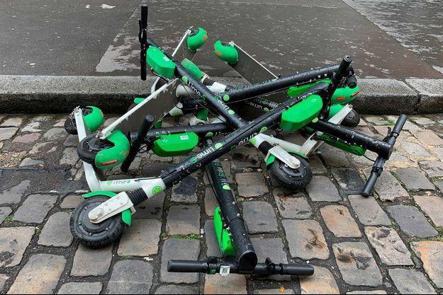 Des trottinettes électriques à Paris (image d'illustration).