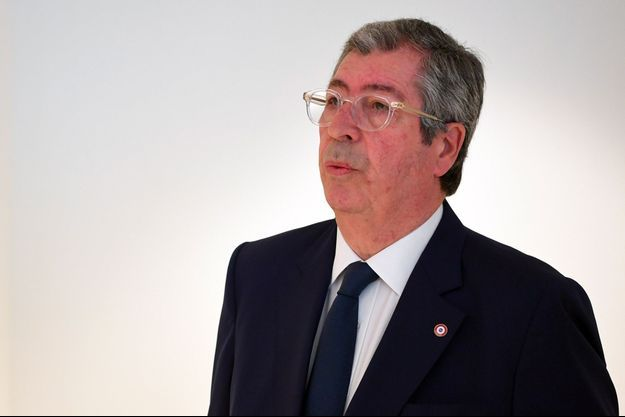 Patrick Balkany lundi au palais de justice de Paris.