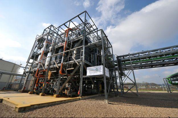 L'usine d'huiles Saipol (groupe Avril) située à Grand-Couronne.