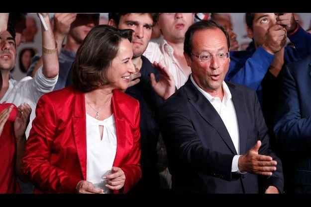 Ségolène Royal et François Hollande.