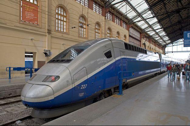 Gare Saint-Charls à Marseille (image d'illustration)