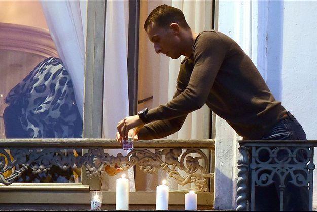 Mohamed Abdeslam, à Molenbeek, le 19 novembre dernier.