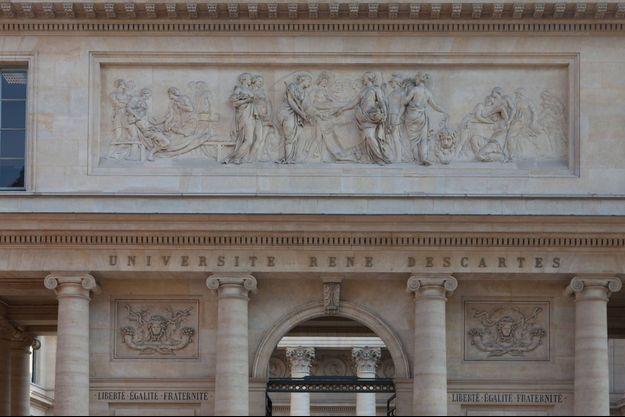 L'Université René Descartes à Paris.
