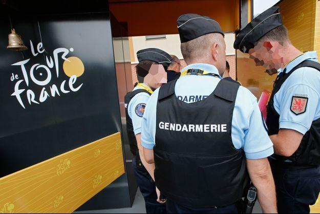 Des gendarmes sur le Tour de France, édition 2016.