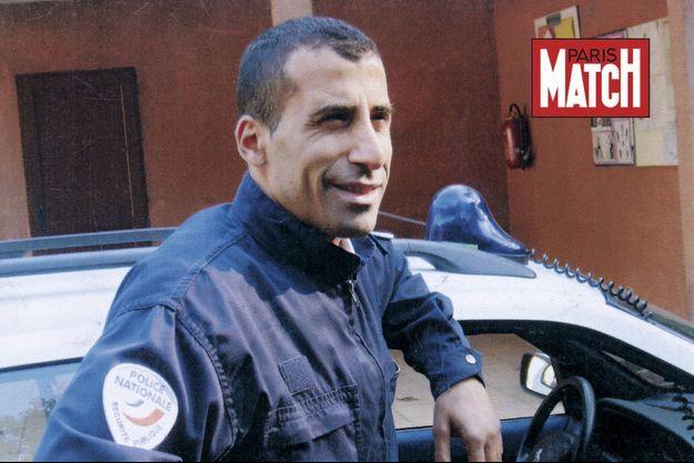 Ahmed Merabet en service.