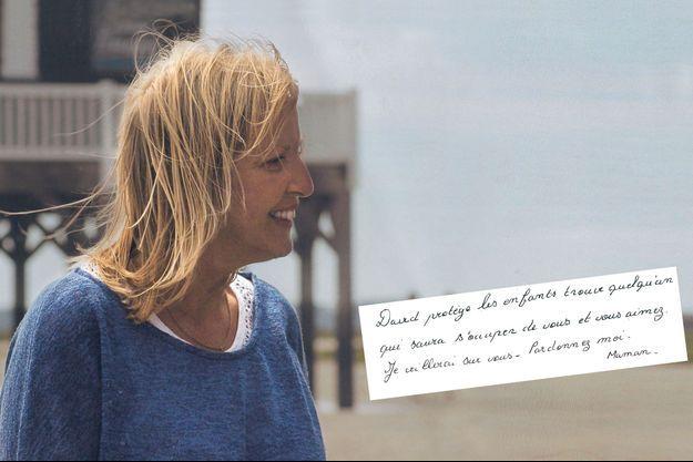 Emmanuelle, pendant les vacances d'été 2014, sur l'île aux Oiseaux, dans le bassin d'Arcachon