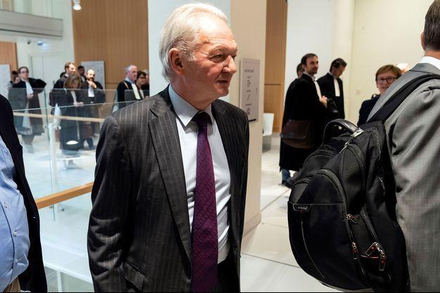 L'ex-numéro 2 de France Télécom Louis-Pierre Wenès au tribunal de Paris, le 23 mai.