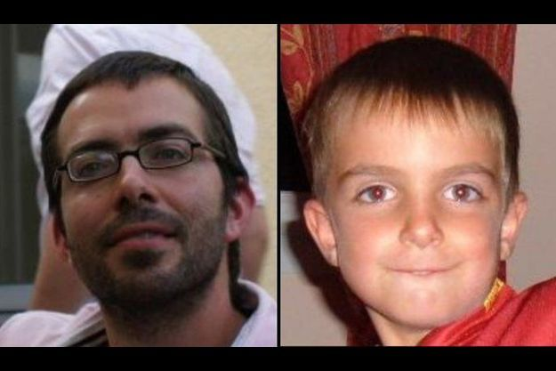 Sylvain Jouanneau et son fils Mathis, disparu depuis début septembre