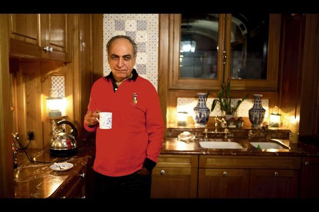 Ziad Takieddine chez lui, le 1er octobre.