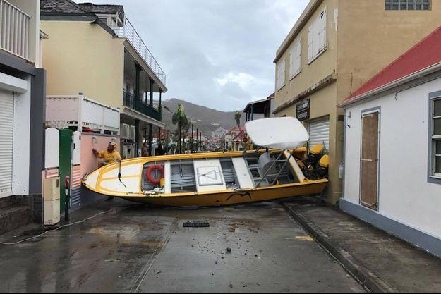 De nombreuses habitations de Saint-Barthélémy ont été ravagées.