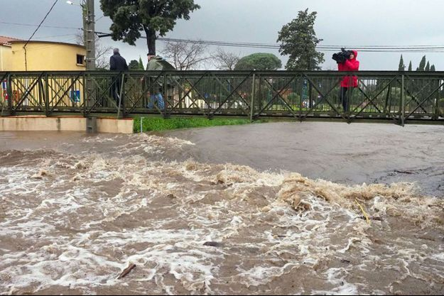 Les inondations à Argelès-sur-Mer
