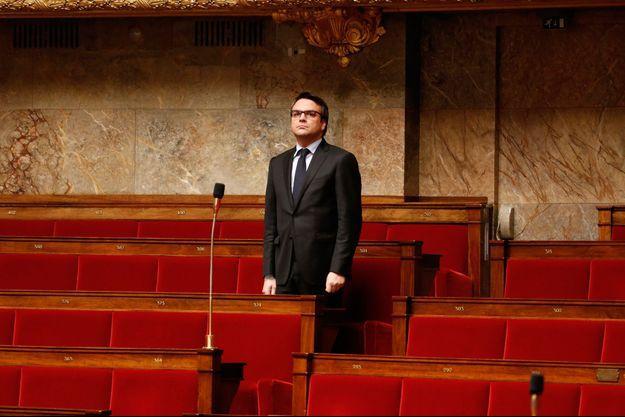 Thomas Thévenoud, à l'Assemblée en novembre 2014.