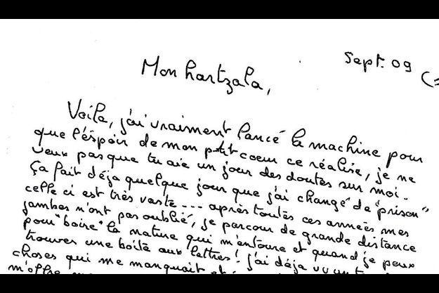 Jean-Pierre Treiber appelle Blandine mon « hartzala », petit cœur en Alsacien.
