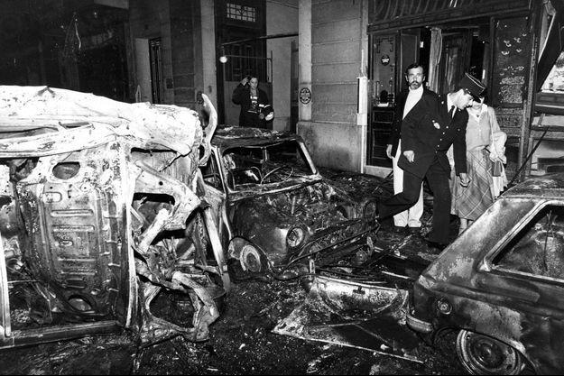 L'attentat a eu lieu le 3 octobre 1980.