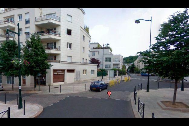 C'est sur l'avenue Henri IV à Meudon que le drame a eu lieu.