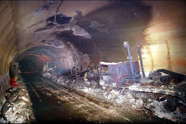 incendie tunnel mont blanc