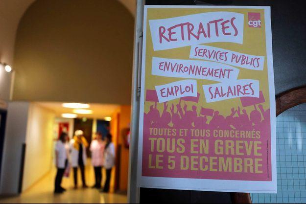 La grève doit impacter de nombreux secteurs, le 5 décembre 2019.