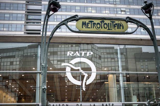 Le siège de la RATP, à Paris.