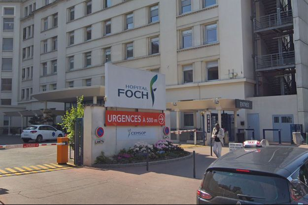 Hôpital Foch à Suresnes.