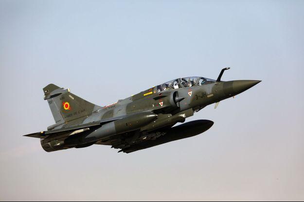Un Mirage 2000D.