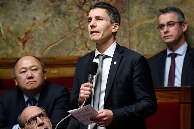 Le député LREM du Bas-Rhin Bruno Studer, à l'Assemblée mi-décembre;