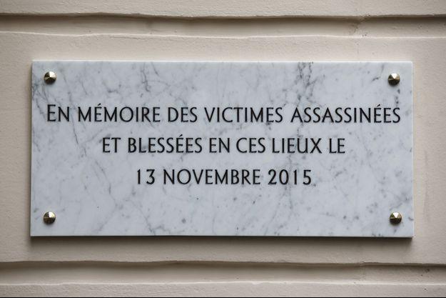 en mémoire des victimes assassinées et blessées au Bataclan