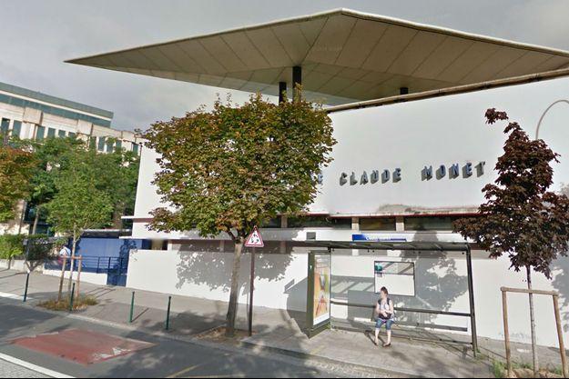 Capture d'écran de l'école Claude Monet à Rueil-Malmaison.