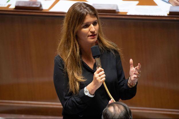 Marlène Schiappa à l'Assemblée nationale le 10 septembre.