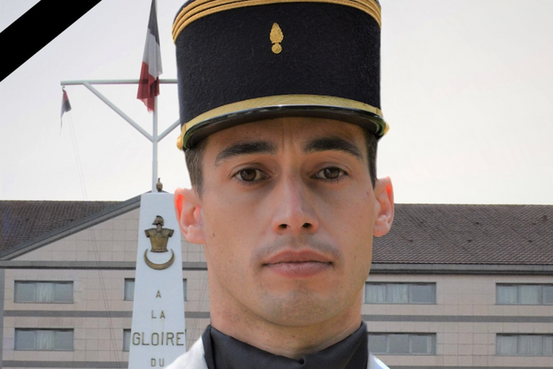 Le capitaine François Sangiovanni, mort au combat.