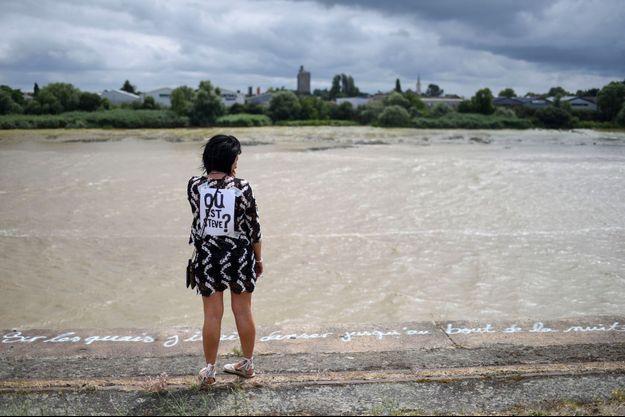 Steve Maia Caniço a disparu alors qu'il se trouvait au bord de la Loire.