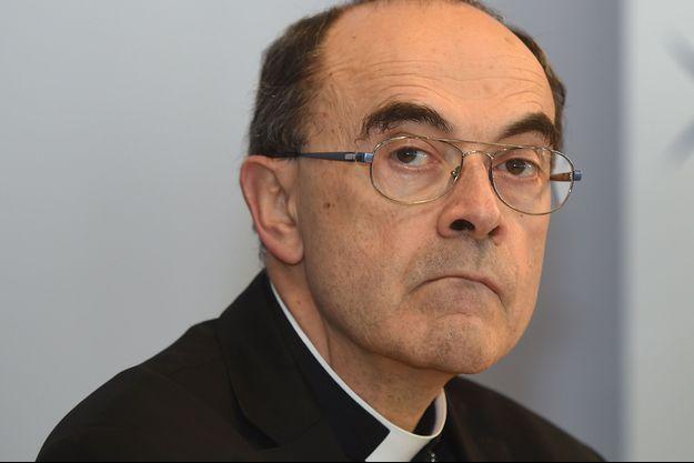 Le cardinal Philippe Barbarin à Lourdes le 30 mars dernier.