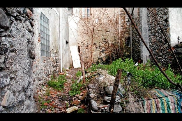 La maison dans laquelle Christian Carrié aurait tué sa compagne, près du Vigan