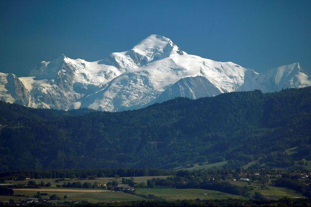 Le Mont Blanc. Image d'illustration.