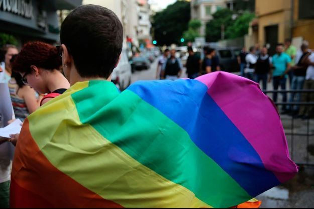 Le drapeau arc-en-ciel, symbole du mouvement LGBT (photo d'illustration).