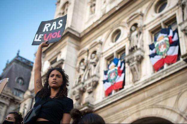 Photo prise le 10 juillet 2020 à Paris.