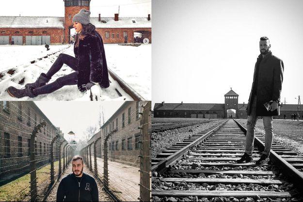 Des centaines de photos inappropriées prises au camp de la mort Auschwitz-Birkenau se multiplient sur les réseaux sociaux.