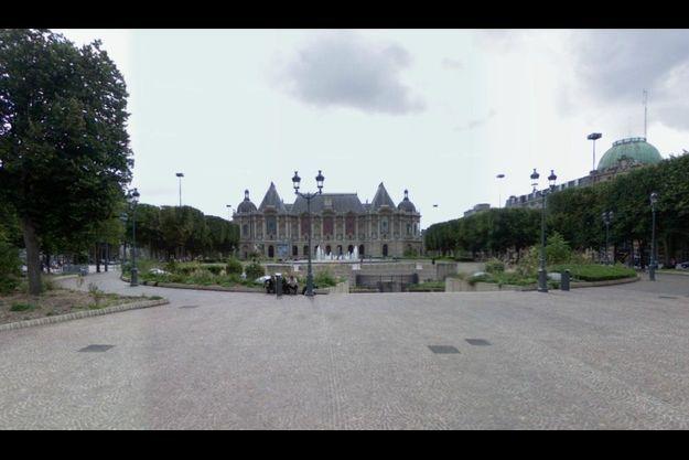 Place de la République, à Lille